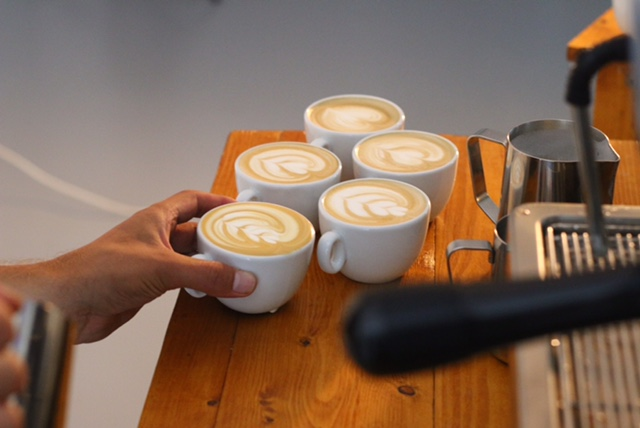 Latte art - koffie workshop
