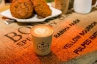Cappuccino op locatie
