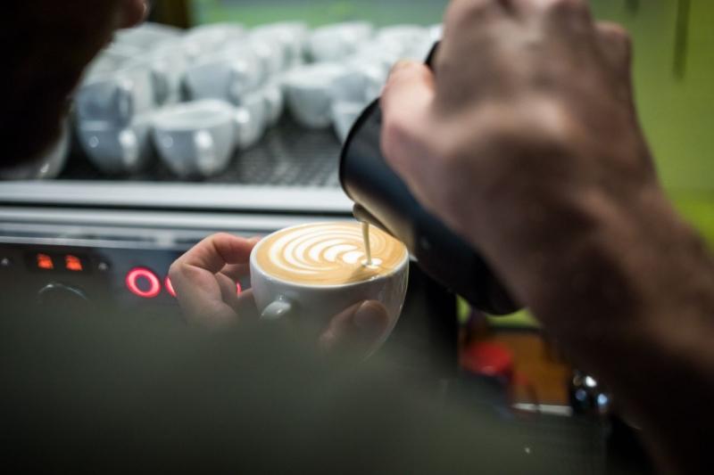 mobiele koffiebar