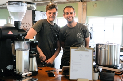 Vilter coffee brent en frank