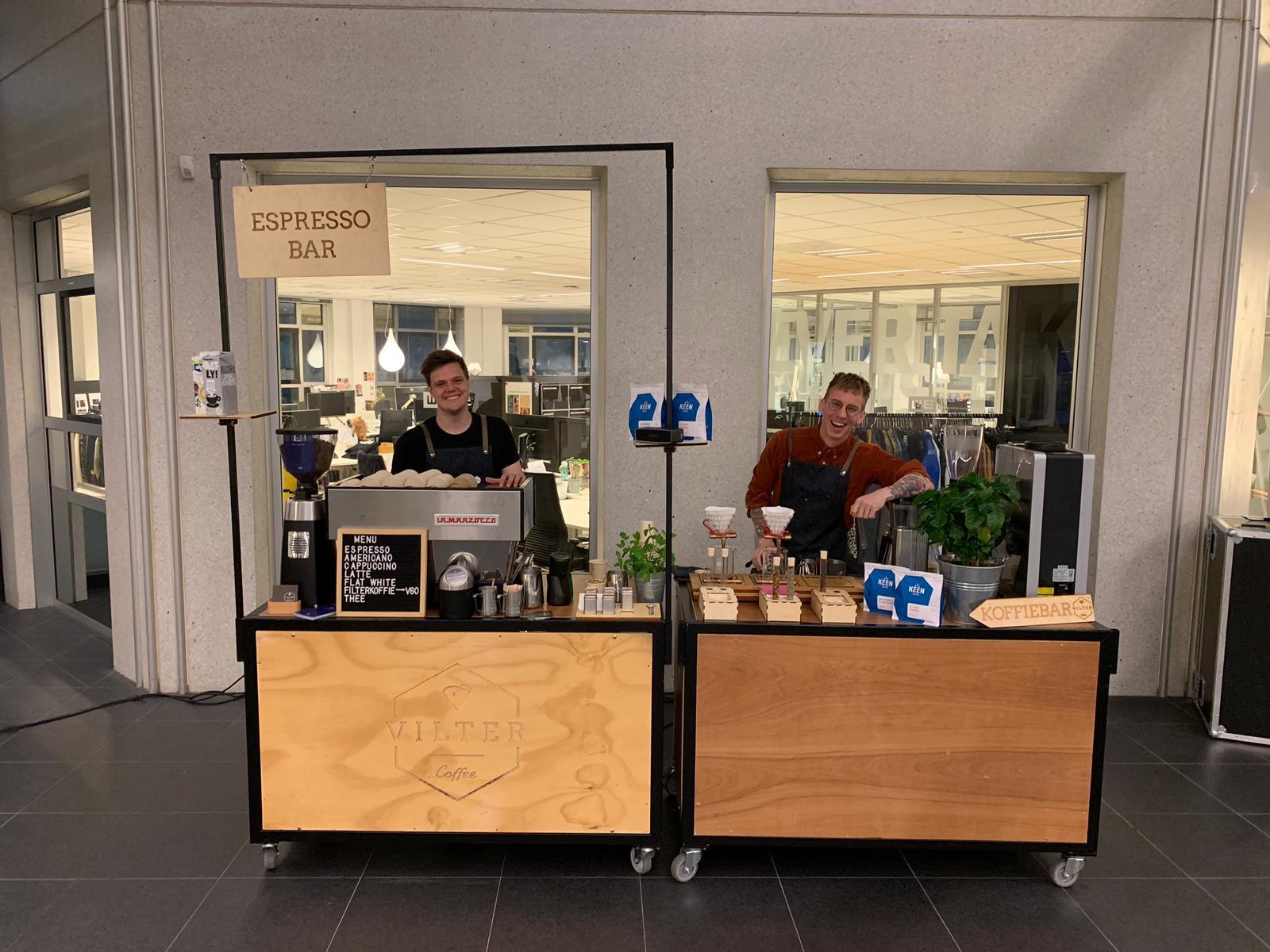 Mobiele koffiebar Vilter