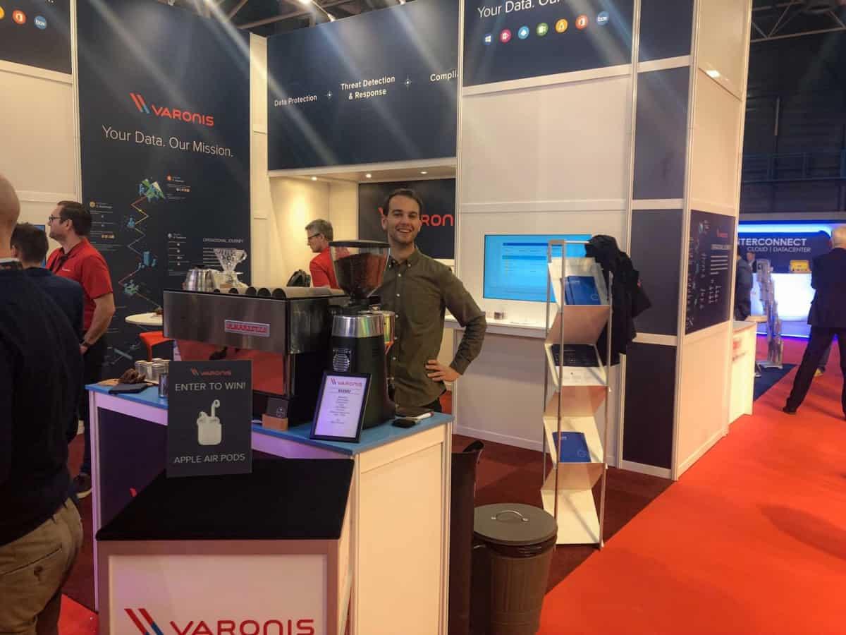 Infosecurity Varonis Vilter koffie