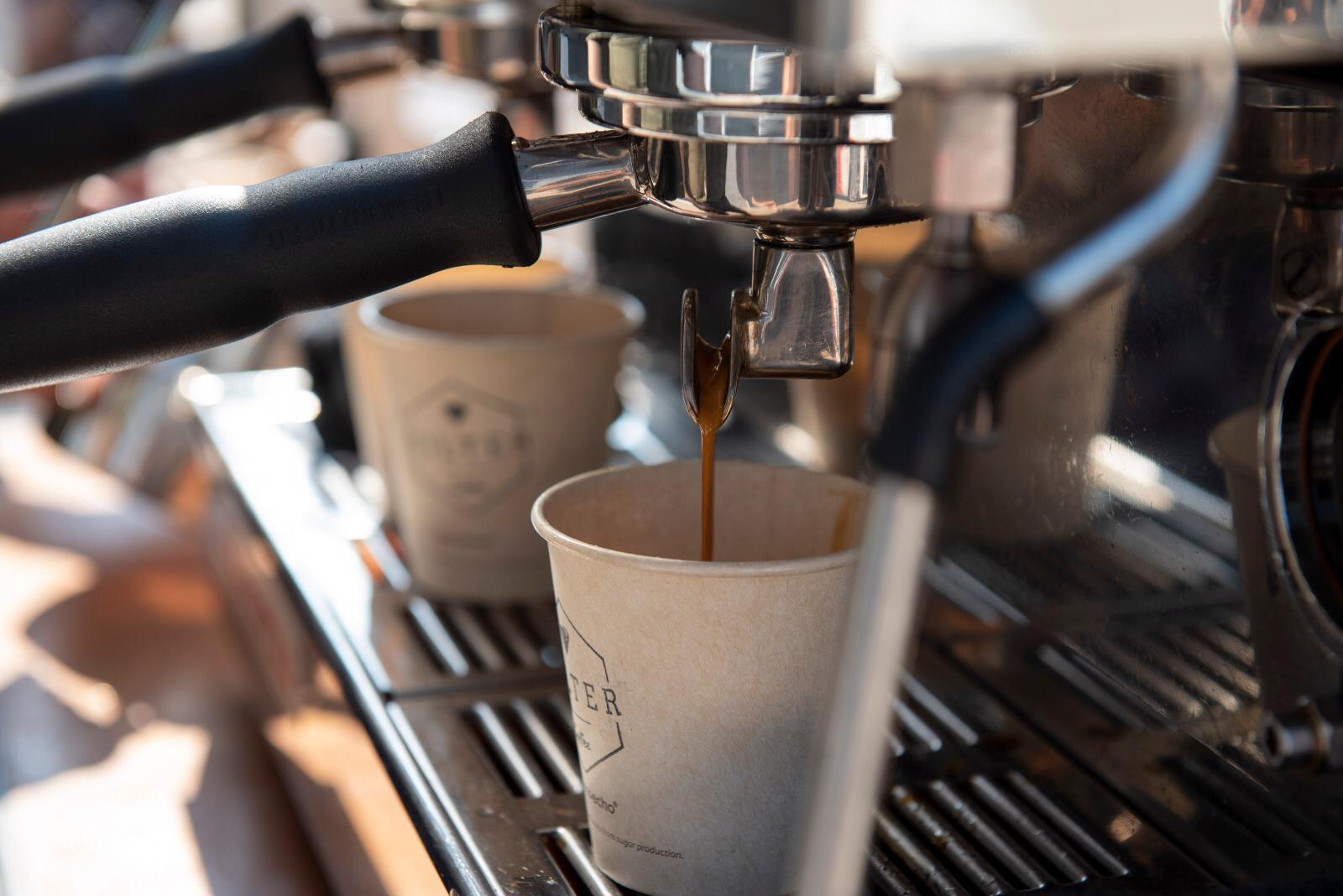 Espresso op locatie