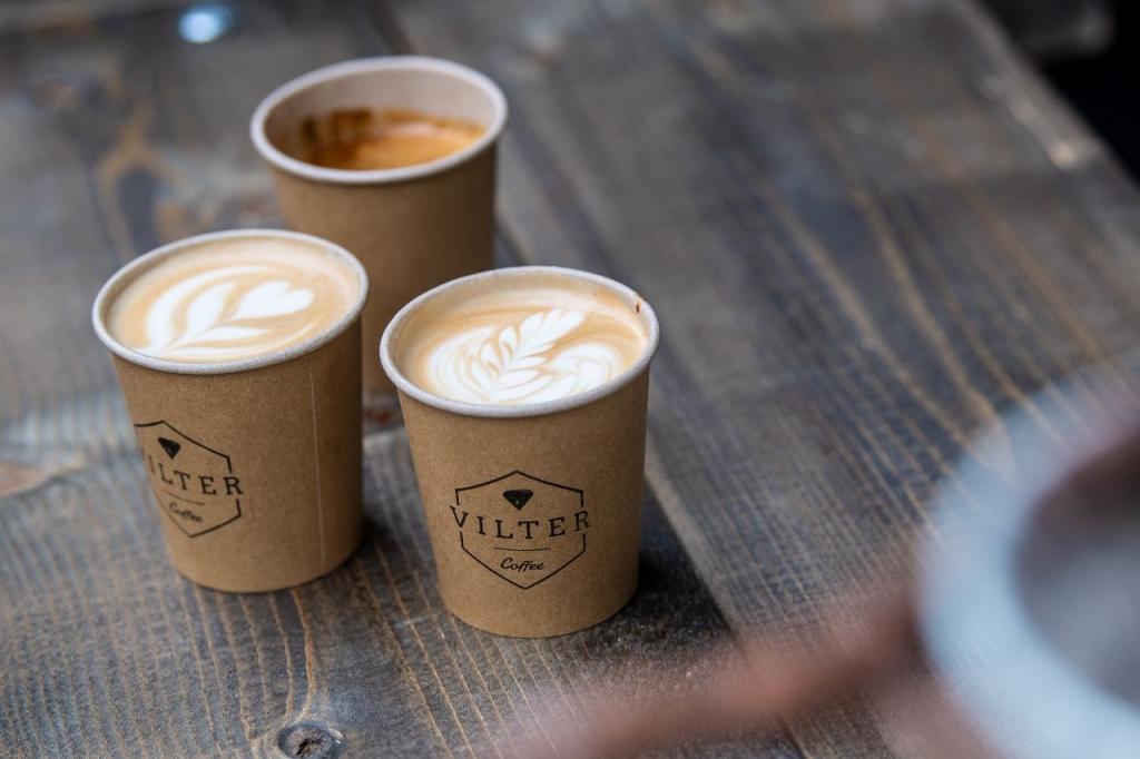 Speciale koffie's op locatie