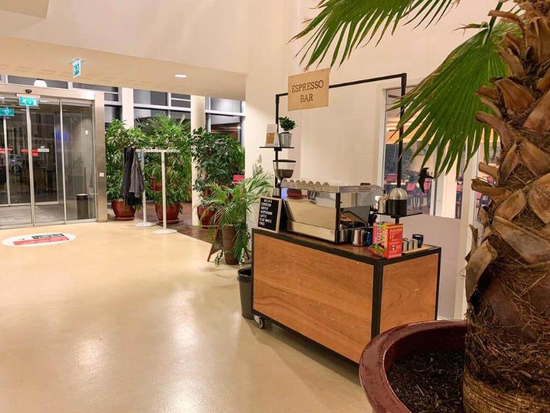 Espressobar Vilter op locatie