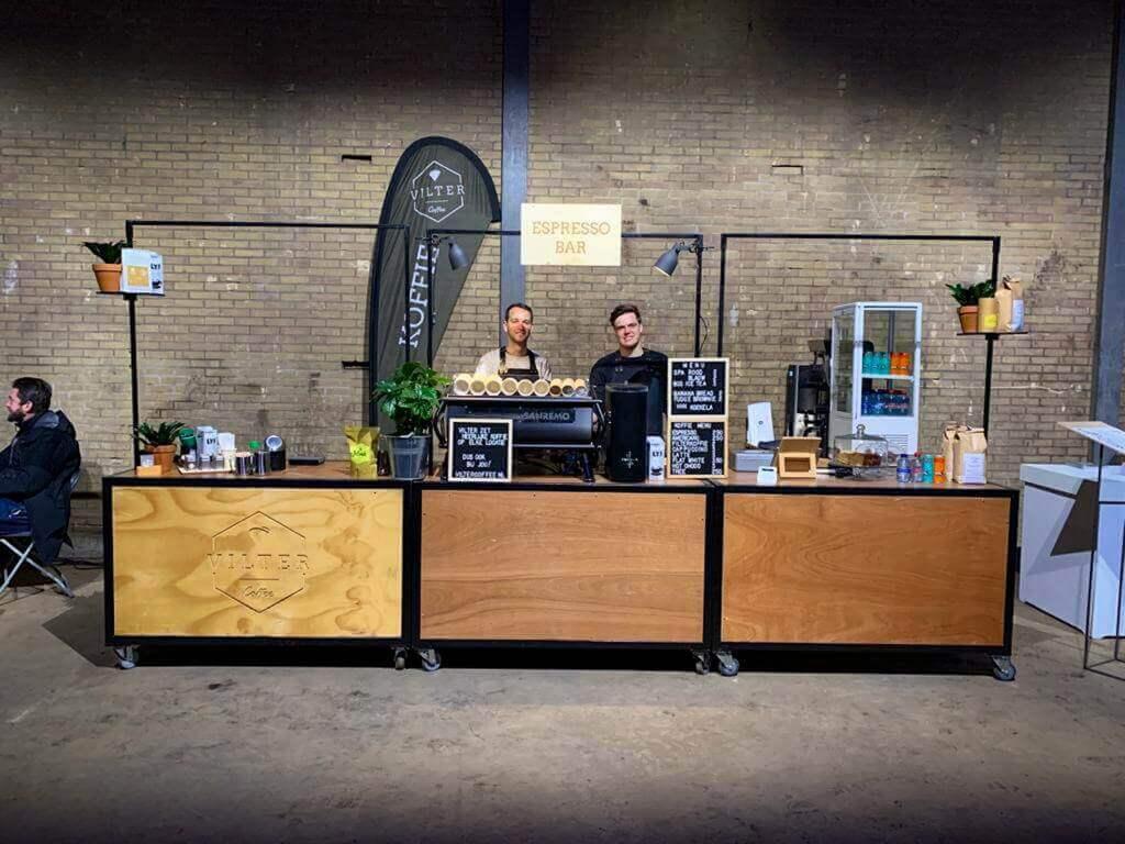 koffie op locatie Vilter