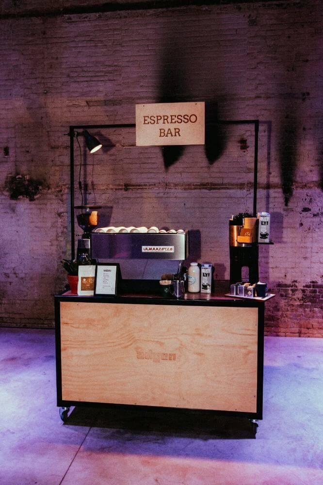 Mobiele espressobar Vilter