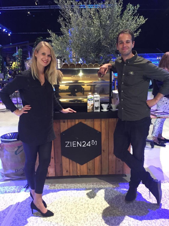 Koffie op beurs - Zien24